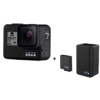 GoPro Hero 7 Black + Cargador dual GoPro + Bateria