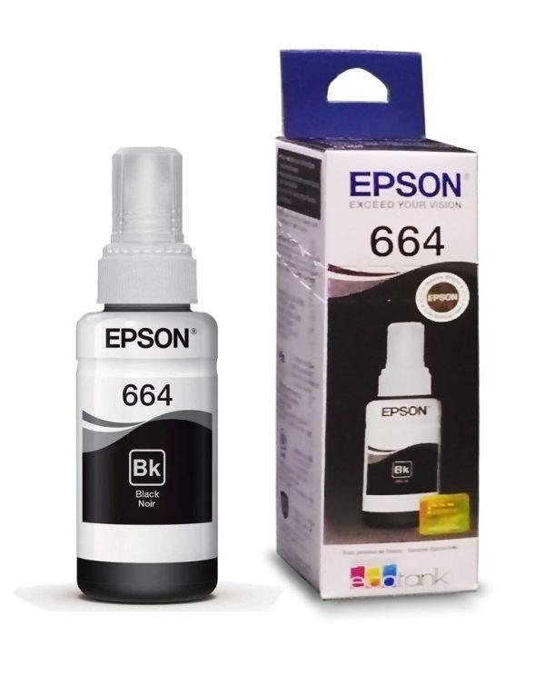 TINTA EPSON T664120-AL NEGRO PARA L200