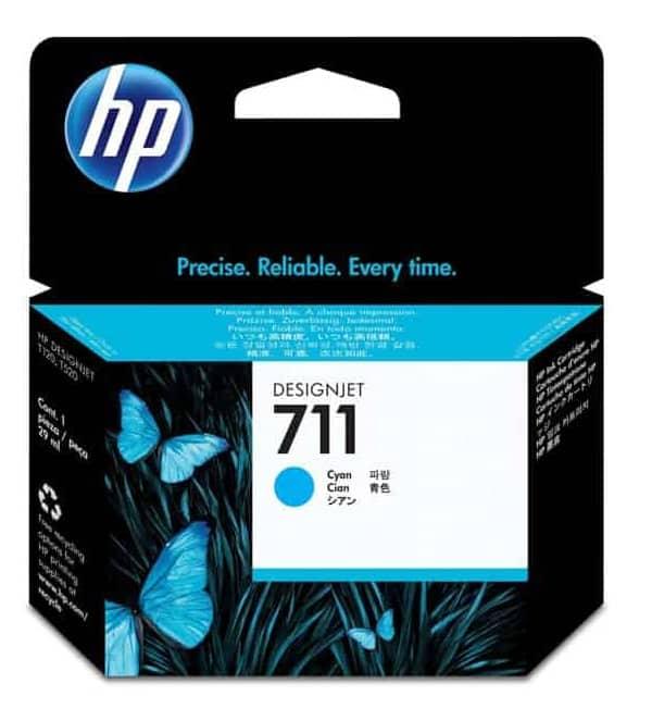 TINTA HP CZ130A (711) CYAN DGJ T120/T520 29 ML