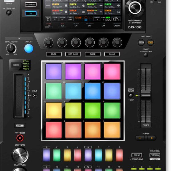 DJS-1000 Sampler DJ independiente