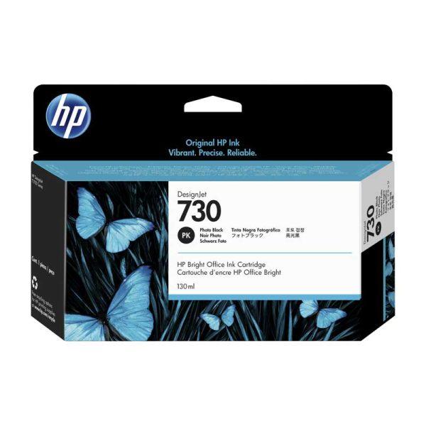 TINTA HP P2V67A (730) 130ML PHOTO BLACK