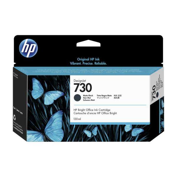 TINTA HP P2V65A (730) 130ML MATTE BLACK